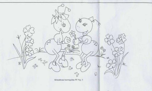 Hormigas en foami - Imagui