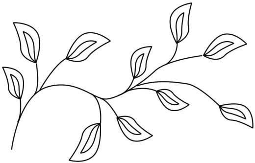 Dibujos de arabescos para colorear - Imagui
