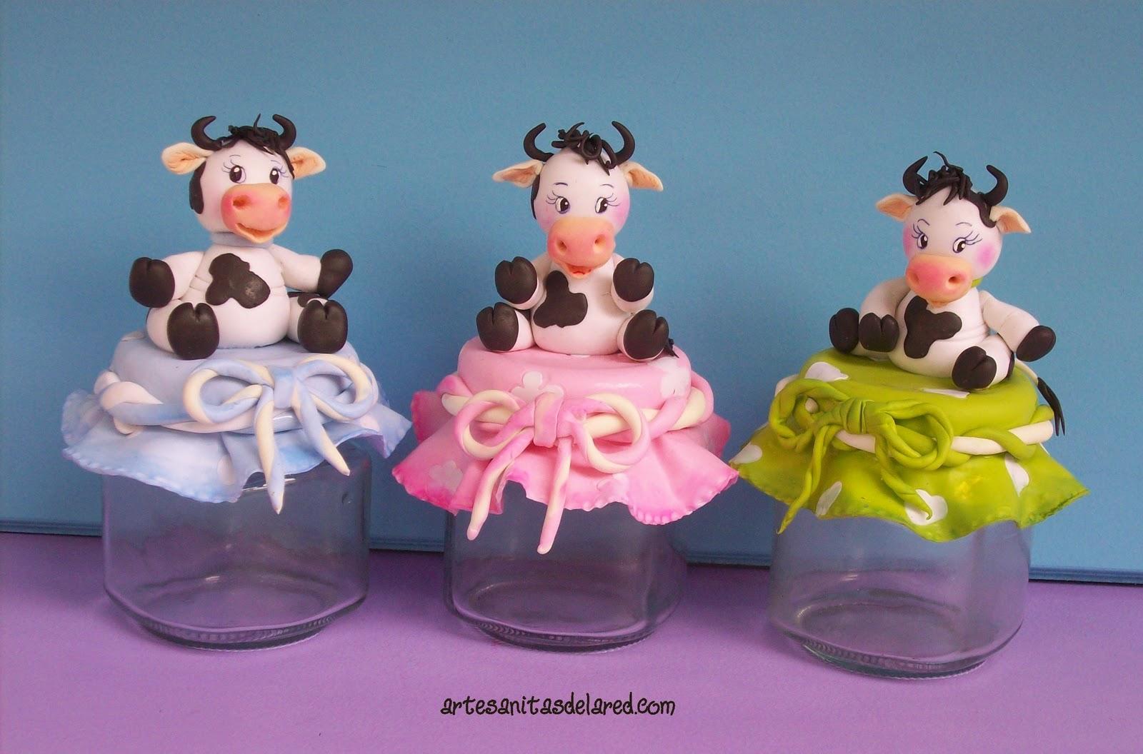 Manualidades en 3D de foamy vaquitas - Imagui