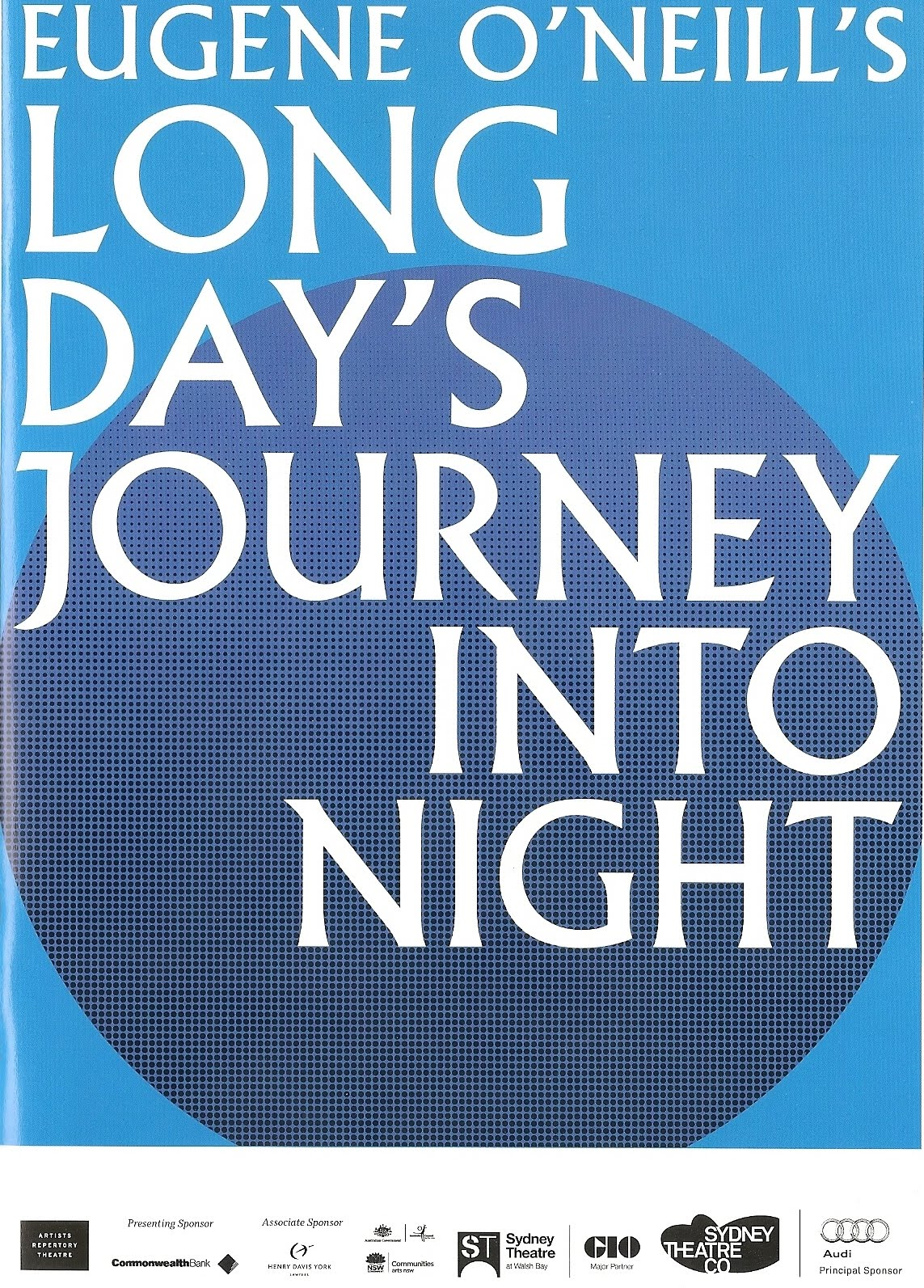 long day's journey into night The tyrone family — the miserly actor father, the grasping mother addicted to morphine, the alcoholic older son and the tubercular younger son — come to grips with their twisted love for one.