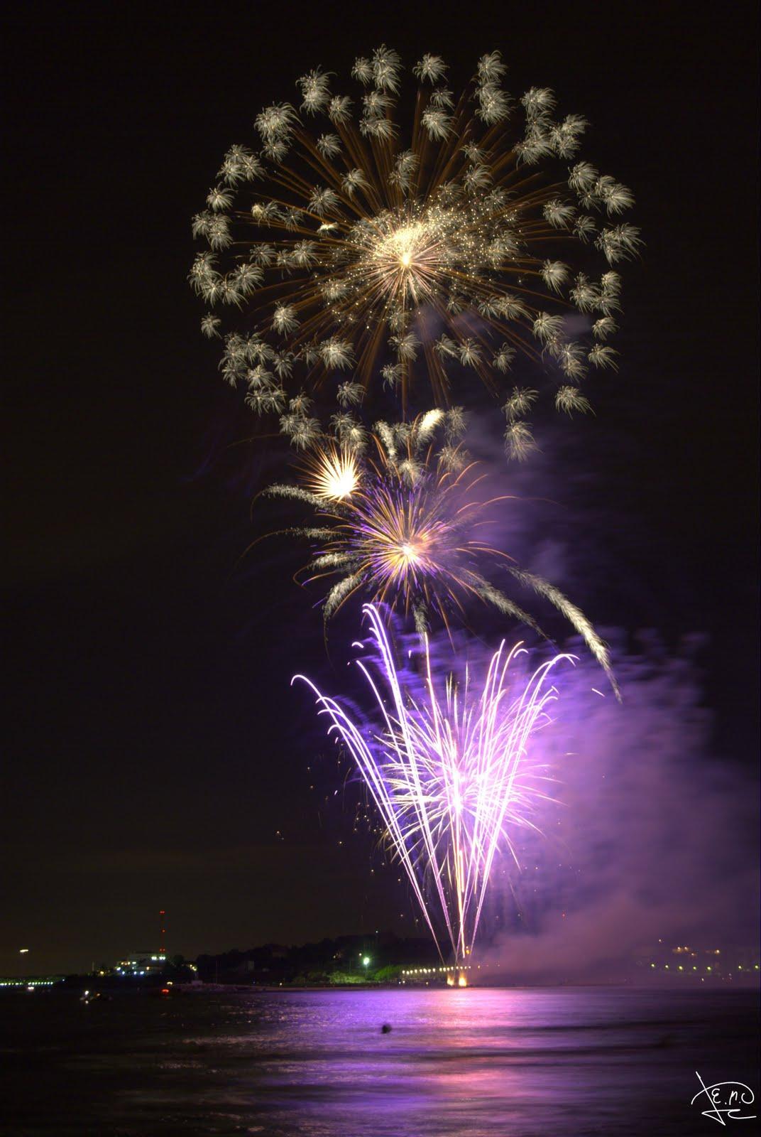 Fotos de un aficionado.: Castillo de fuegos artificiales