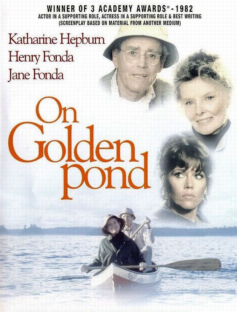 On Golden Pond Movie Poster AFI's 100 Years...100 ...