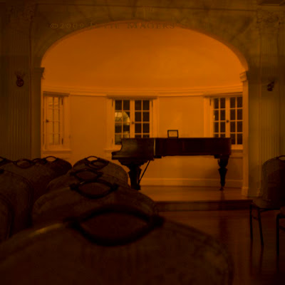 Piano Room at historic Stanley Hotel