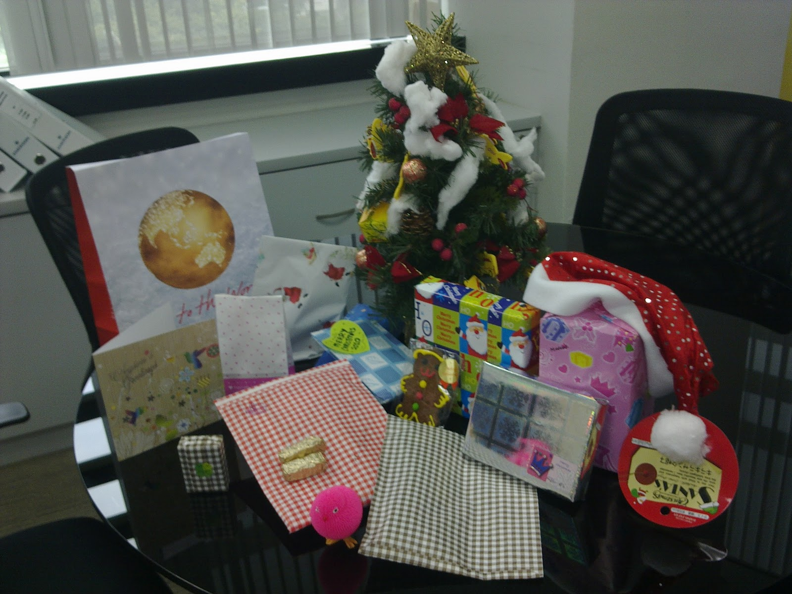 My Story-Baby Love: 2010 Christmas Gifts from Office Colleagues