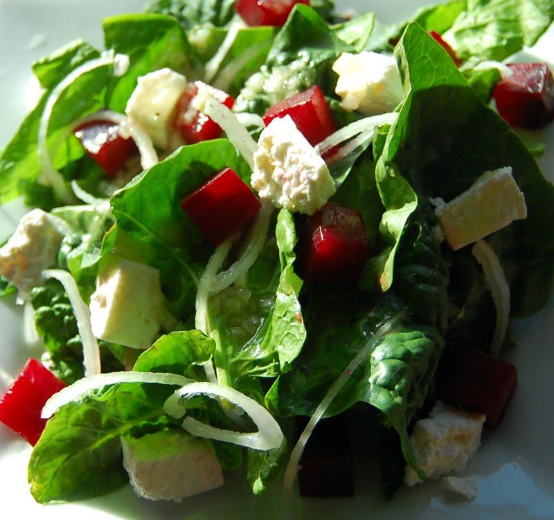 Roasted Beetroot And Feta Salad Recipe - Taste.com.au