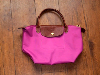 Longchamp Rose Fushia