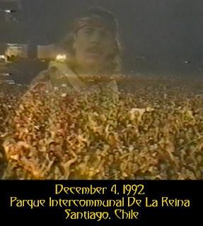 Santana - 1992-12-04 - Santiago, Chile