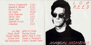 Lou Reed - 1992-03-09 - Amsterdam, Holland