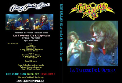 Rory Gallagher (R.I.P.) - 1971-04-30 - Paris, FR (DVDfull pro-shot) REPOST
