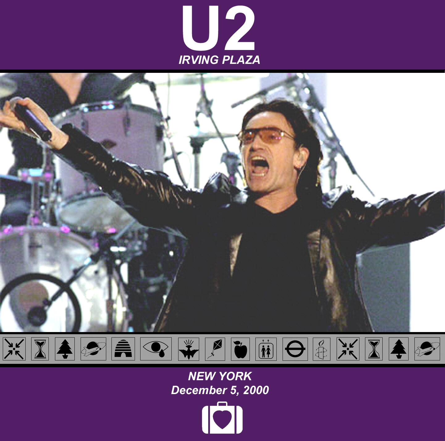 U2 - 2000-12-05: Irving Plaza, New York, NY, USA