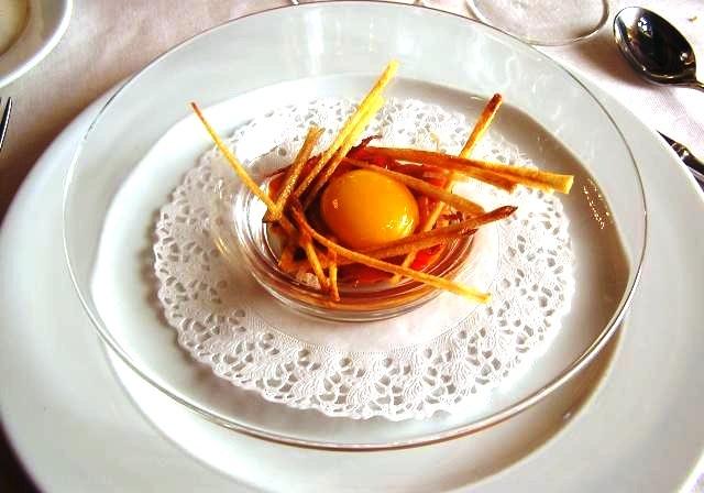La buena vida gourmet de maren huevo for Cocina francesa gourmet