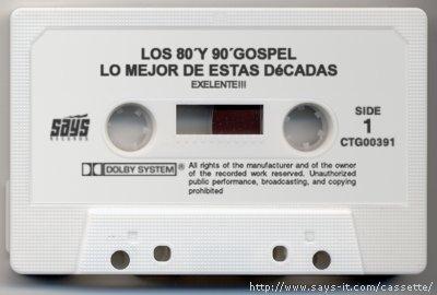 Los 80´ y 90´ Gospel