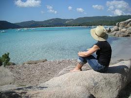 La spiaggia di Santa Giulia Corsica