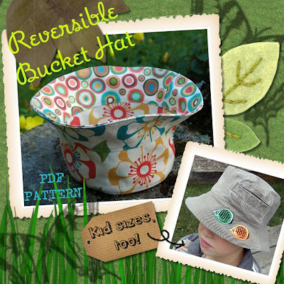 bucket hat sewing pattern | Flickr - Photo Sharing!