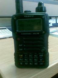 Radio Pertama dipakai VX7R