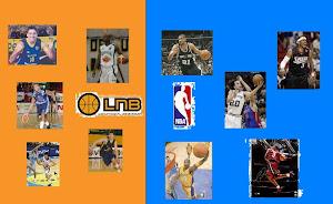 Toda la LNB y la NBA