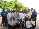 Bersama pelajar masyarakat Orang Asli