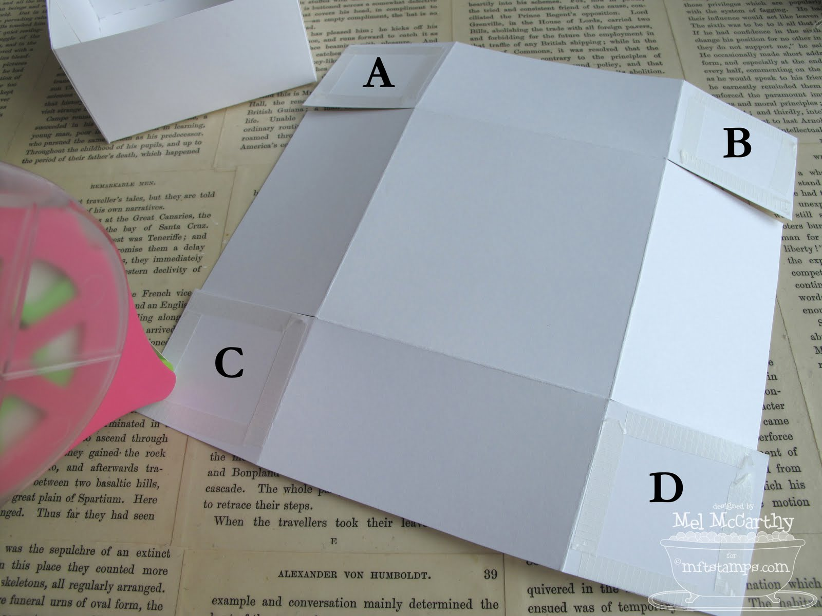 3x3 card template