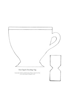 Mel Stampz: New LPS Release! It\'s {Tea Time!} (Tea Cup Template ...