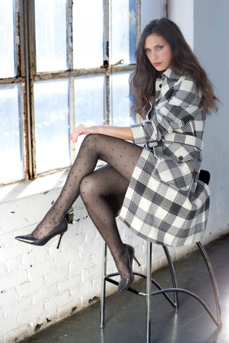 Leg pantyhose women in dresses
