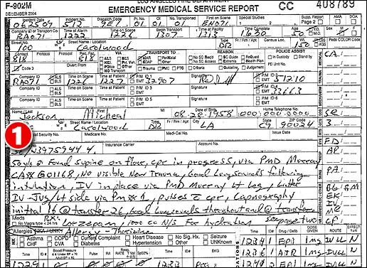 Emt b how to write medical reports