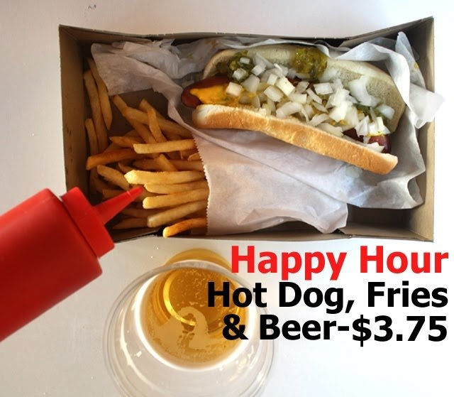 The 99 Cent Chef Hot Dog Happy Hour At Carney S Video 4