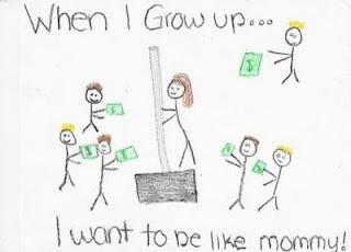Искам да стана като мама!
