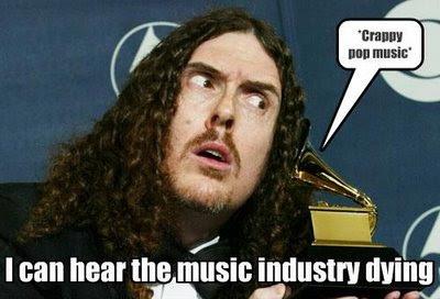 Агонията на музикалната индустрия