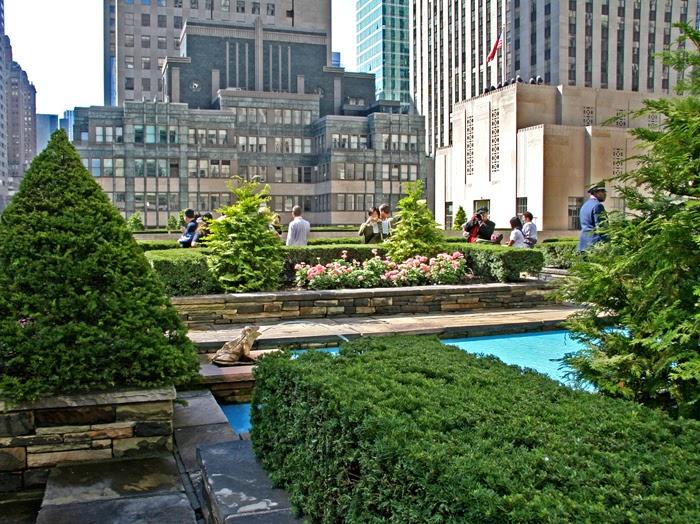 New York Daily Photo Secret Rooftop Garden