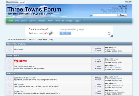 free discussion forum: