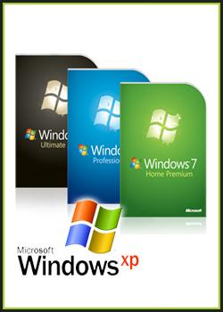 Windows 7 AIO 11 in 1 + Windows XP SP3