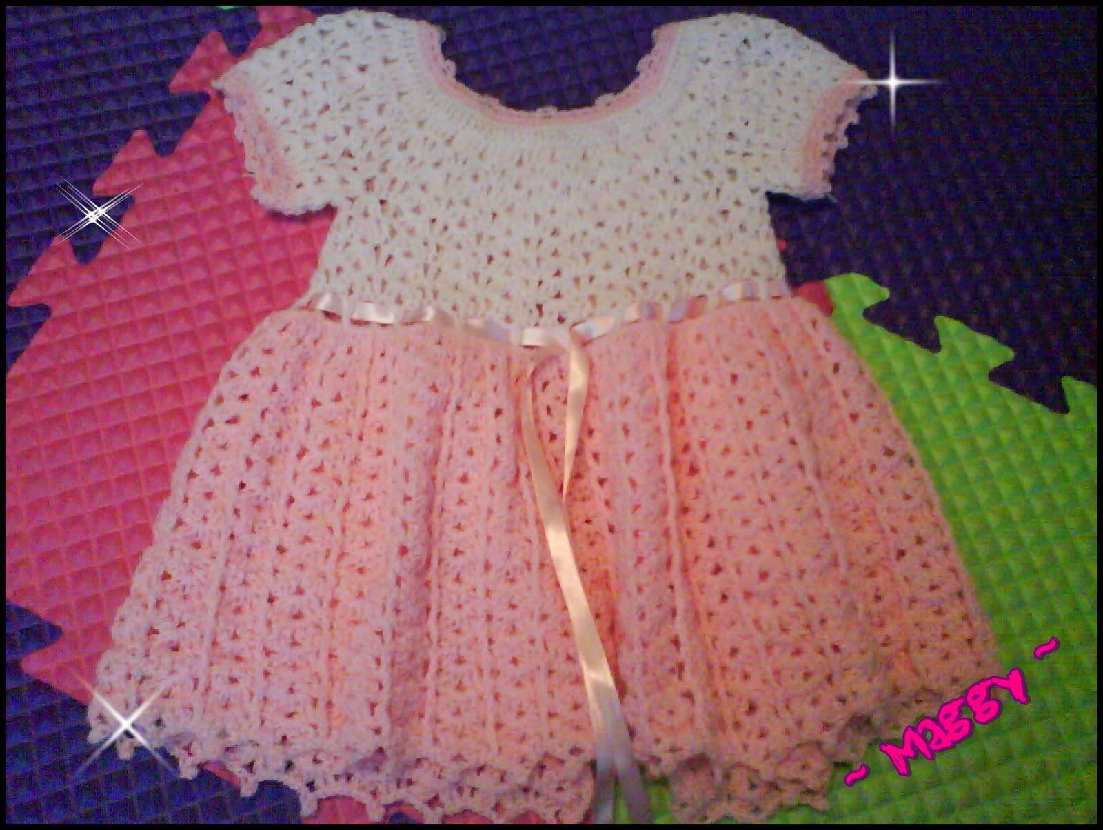 Puntadas de crochet para vestidos DE NIÑA - Imagui