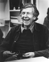 John Cage having a laugh