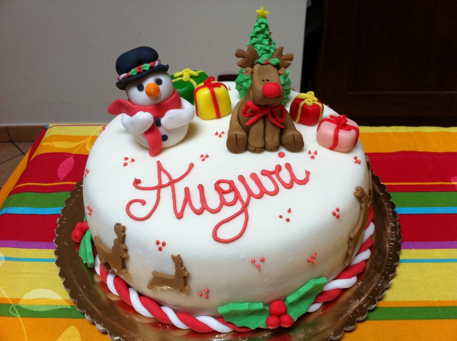 Torte da pazzi tortina di natale - Decorazioni torte natalizie ...
