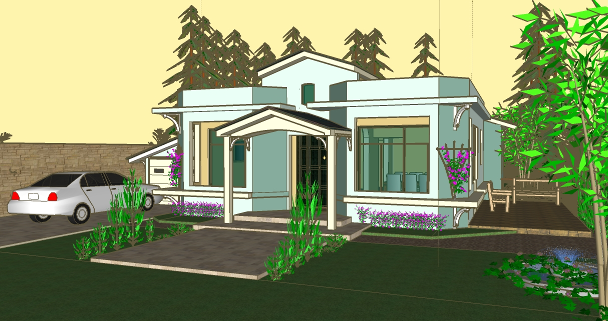 House plans and design architectural designs jamaica for Jamaican house designs