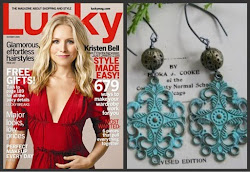 Lucky Magazines Fall Pick - The Barcelona Earrings