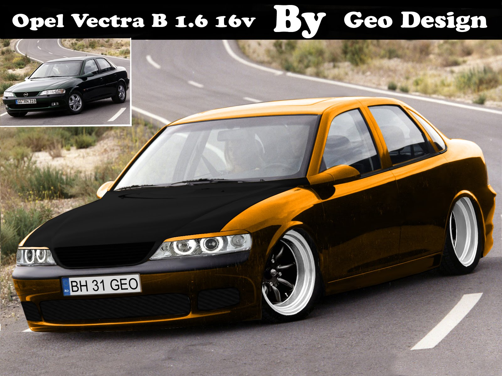 geo designs opel vectra b by geo. Black Bedroom Furniture Sets. Home Design Ideas
