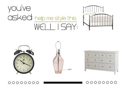 Help me style this: il letto in ferro battuto