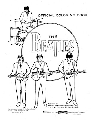 Beatles Coloring Book Pages