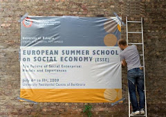 ESSE 09 European Summer School on Social Economy