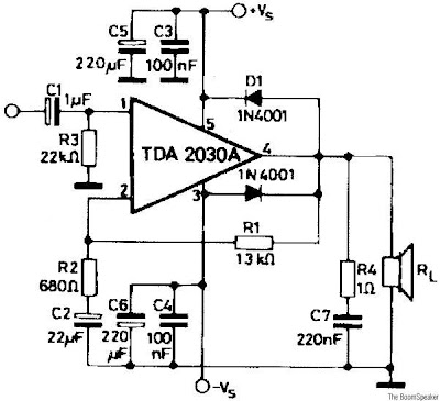 audio amplifier TDA2030