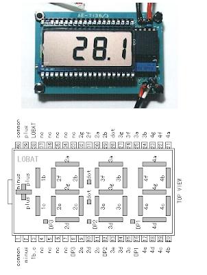LCD SP521PR Pinning