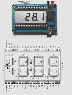 LCD 4 Digits SP521PR