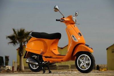 2009 VESPA LX 125-150 cc