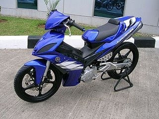 Yamaha Jupiter MX135LC modification