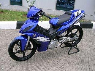 Yamaha Jupiter MX135LC modification