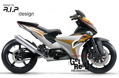 Honda BLade Extrem Modif