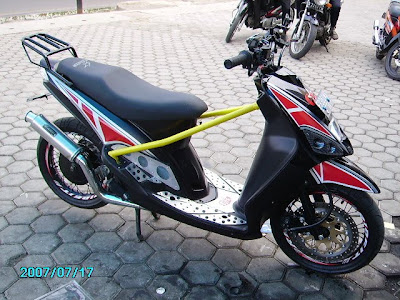 Yamaha mio Modification