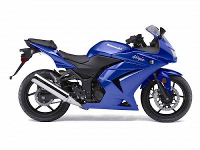 Kawasaki Ninja 250R 2009  Blue Color