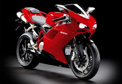 Ducati Superbike 848 Red